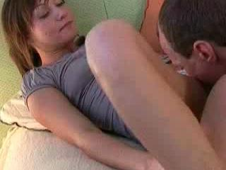 Elderly Stud Drills Teenager Sweetie