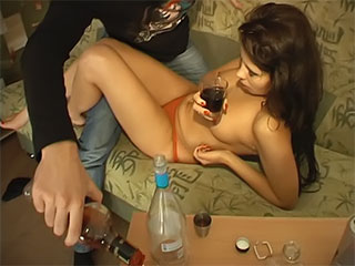 Inexperienced Dame Will Get Smashed With A Lager Bottle
